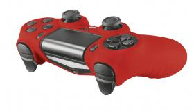 Trust GXT 744R Rubber Skin Red PS4
