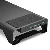 Sharkoon Monitor Stand Power Black